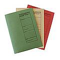 Formulare Prüfbücher