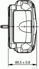 Heckleuchte links Sprinter und Crafter  Pritsche - Fahrgestell - Kipper
