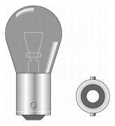 Glühbirne 24 Volt 21 Watt BA15s