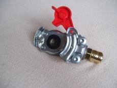 Druckluftadapter zum Anschluss an die Vorratsleitung rot Outdoor Druckluftversorgung
