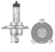 Osram H4 Standard Halogenlampe 12 Volt 60/55 Watt P43t 10er pack
