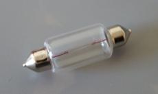 Glühlampe Soffitte Soffittenbirne 12 Volt 18 Watt LowBudget