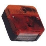 Rear lamp 4 function 98 x 104 mm  for Trailer and more inexpensive NoName product