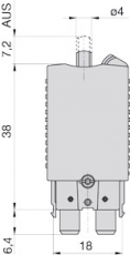ETA Thermische Schutzschalter / Sicherungsautomat  10A max 28 Volt